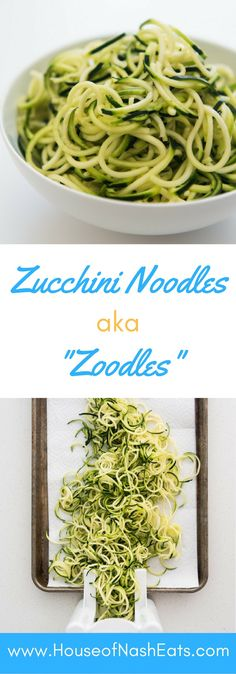 Zucchini noodles are delicious, gluten-free, Whole 30 compliant, and so much like actual pasta! This preparation method ensures non-watery,…