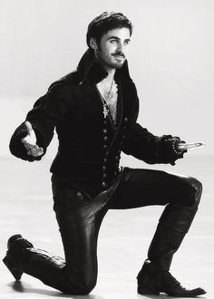 I never would have imagined that captain hook would be my favorite fairytale character!