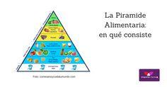 Piramide alimentaria, qué es y qué significa, en el Blog de Vinagrerías Riojanas