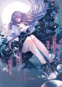 Kaeri by Saiivee Anime Girl Neko, Chica Anime Manga, Anime Kawaii, Anime Art Girl, Anime Girls, Anime Places, Pretty Anime Girl, Anime Angel, Manga Characters