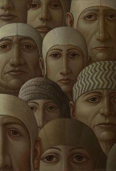 George Underwood - British Surrealist Painter - About Face