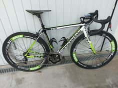 Cannodale and bottle cage Raceone X3-Race Black... perfect!