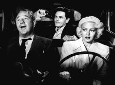 "Cecil Calloway, John Garfield and Lana Turner  ""The Postman Always Rings Twice"", (1946)"