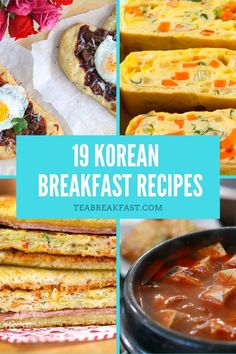 Breakfast is considered an important meal in most Asian countries. In Korea, a complete set of traditional breakfast usually consists of rice, meat or fish, and several side dishes. Best Breakfast Recipes, Breakfast Dishes, Brunch Recipes, Breakfast Club, Korean Dishes, Korean Food, Comidas Fitness, Morning Food, International Recipes