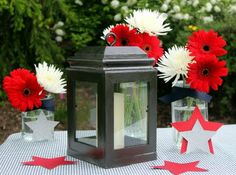 Craft Goodies: Wood You Like to Craft? with Candace of Crafty Sisters - another DIY lantern made from picture frames