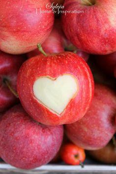 Au coeur de la pomme !