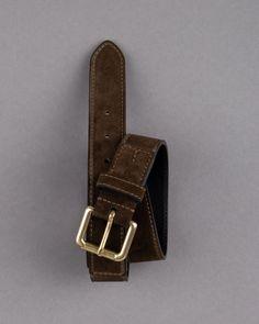 Men's suede belt by Felisi | Dantendorfer online shop Belt, Winter, Clothing, Accessories, Shopping, Collection, Suede Fabric, Belts, Winter Time
