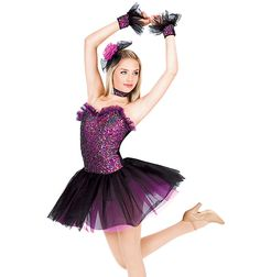 Theatricals Costumes Glamorous Adult Tutu Dress, for our glam routine?