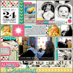 Project Life 2014 (Week 9, Day 1): Impromptu Playdate - Scrapbook.com