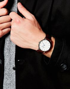 Daniel Wellington - Dapper - Orologio argento da 38 mm € 308,99