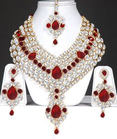 Indian Jewlery | Indian Bridal Kundan jewelry set : Online Shopping, - Shop for great ...