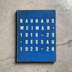 Bauhaus Weimar 1919-25 Dessau 1925-28