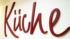 BUCHSTABEN ★ DIY ★ weiss zum Selbstgestalten von PAULSBECK Buchstaben, Dekoration & Geschenke auf DaWanda.com