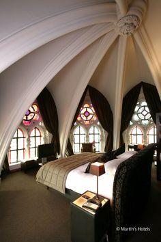 Martin's Patershof - Mechelene Belgium A neo-Gothic... | Luxury Accommodations #LuxuryBeddingPosts