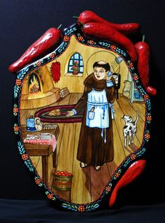 I figure we can all use a little help in the kitchen today from San Pasqual, patron saint of chefs and kitchens!!