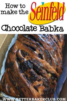 Chocolate Cinnamon Babka Recipe, Chocolate Brioche, French Chocolate, Chocolate Recipes, Fun Baking Recipes, Bread Recipes, Yummy Recipes, Yummy Food, Sweets