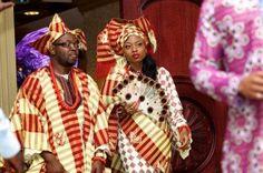 Western Nigerian Wedding Traditions Fashion