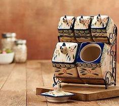 A charming addition to any countertop. This beautiful Old World bistro canister set helps you keep staples like flour, sugar, coffee, and tea within easy reach. Canister Sets, Canisters, Temptations Cookware, Temptations By Tara, Princess House Crystal, Kitchen Sets, Kitchen Stuff, Beautiful Home Designs, Useful Life Hacks