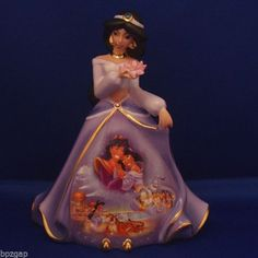 Disney Jasmine's Wish Bradford Exchange Bell Figurine Disney Jasmine, Princess Jasmine, Disney Princess, Disney Home, Disney Dream, Bradford Exchange Disney, Disney Movies, Disney Characters, Disney Figurines