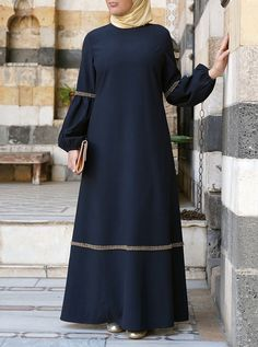 Abaya Fashion, Fashion Dresses, Modest Fashion, Burqa Designs, Abaya Mode, Moslem Fashion, Hijab Stile, Islamic Fashion, Islamic Clothing