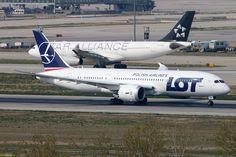 LOT Polish Airlines Boeing 787-8 Dreamliner