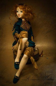 Alkioni by Romantic Wonders Dolls Snow White Art, Beautiful One, Ooak Dolls, Handicraft, Sculpting, Illustration Art, Wonder Woman, Etsy, Trending Outfits