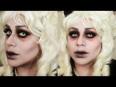 Halloween Makeup: Victorian Ghost Bride - YouTube
