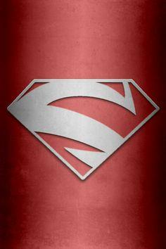 Superman Red background by_kalel7-d5l9o8h