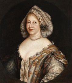 Prinses Wilhelmina Ernestine van Denemarken °21/06/1650  +23/04/1706, dochter van Frederik III van Denemarken & Sophia Amalia van Brunswijk-Lüneburg.