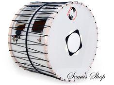 Orientalische 51 cm DAVUL Dhol Drum Schlagzeug Davul 100/% Handmade