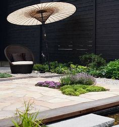 Japanese gardens are so collected and for an average homeowner, simply unachievable.  But this Japanese styled gardens seems full of …