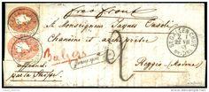 "NATANTE COMO - COLICO / 23. LUG. 1863 "" shipmail transit bs, cert.  Ferchenbauer.  40000.00 Euro ."