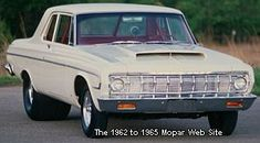 1964 Plymouth Belvedere Hemi front view