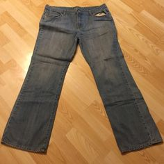 Denim Jeans Really stylish denim!! Has a 28 inch inseam . Has no stretch in the waist.❤️ Prices are negotiable but please be considerate due to Poshmark fees are 20% ❤️ OFFER button is always the best ❤️ Bundles receive great discounts ❤️ SAME day shipping ❤️ No Trades, No holds , No PayPal  ❤️ Happy Poshing  Bitten Jeans