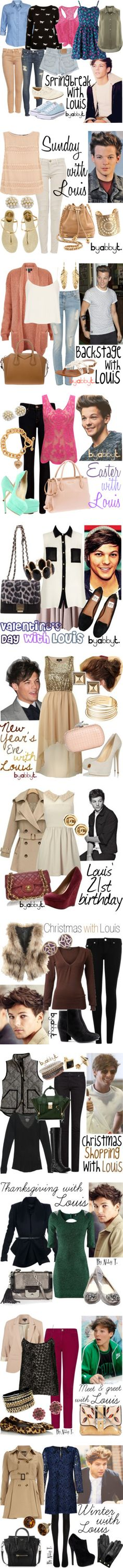 """Louis Tomlinson Inspired Fashion"" by abbytamase on Polyvore. I don't care about Lois I just love the outfits"