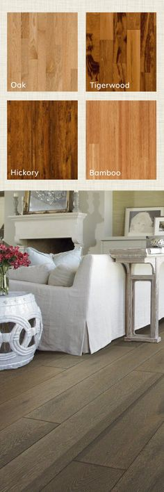 Hardwood floors are best for hallways, bedrooms, dining rooms and living rooms. Whether engineered hardwood or solid hardwood flooring, the glow of natural wood brings comfort and beauty to any room. Visit Wayfair and sign up today to get access to exclusive deals everyday up to 70% off.