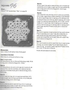 Scottys Place: Snowflake Square Pattern