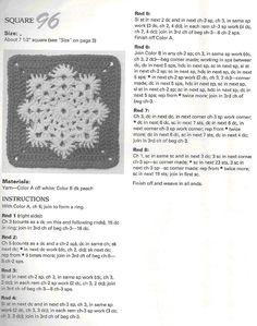 Scottys Place: Snowflake Square Pattern