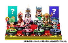【TIGER&BUNNY】Collectage BOX Figure (CANDY TOY, Tentative Name)  [Release Date]late November-2012  *10 Packs/ Box  w/Gum  URL: http://aikoudo.com/goods_en_10054.html