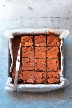brownie, dessert, chocolat, recette, cuisine