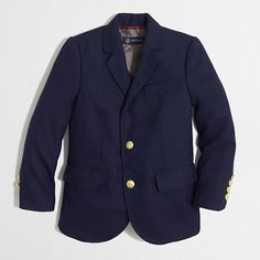 J.Crew Factory - Factory boys' gold-button blazer