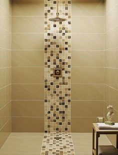Bathroom tiles - mosaic shower tray