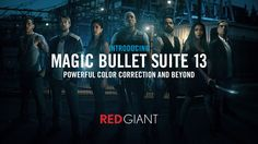 Red Giant Magic Bullet Suite 13 is out