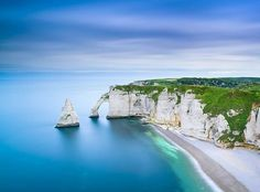 Cliffs of Etretat, France They were stunning enough for Monet to paint…so that's reason enough for us.