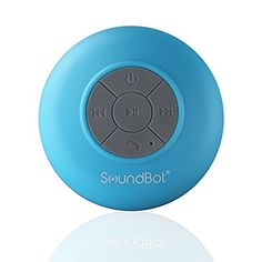 Cool electronics for teenage girls, this bluetooth, wireless, portable speaker is perfect for the shower or to take on the go.  It has a dedicated suction cup to stick to the shower walls. This is one of the Best Toys and Gifts for Teen Girls