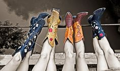 not just colorful boots......COLORFUL COWBOY BOOTS!!!! 10x better!