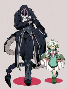Bondrewd/El Señor del Alba y Prushka Fantasy Character Design, Character Design Inspiration, Character Concept, Character Art, Fantasy Characters, Anime Characters, Mago Anime, Creature Concept Art, Estilo Anime