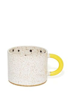 Recreation Center Dipped Dot Mug at Nasty Gal Ceramic Tableware, Ceramic Clay, Ceramic Bowls, Ceramic Pottery, Stoneware, Clay Cup, Clay Baby, Cute Mugs, Hand Painted Ceramics