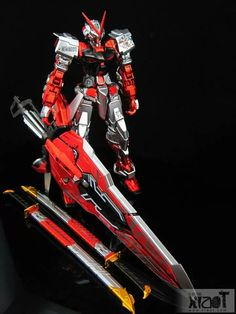 Metallic painted mg gundam astray