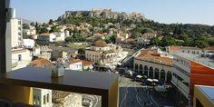 A for Athens cafe/bar Athens Hotel, Athens Acropolis, Athens Greece, Cafe Bar, Greece Travel, Kai, I Am Awesome, House Design